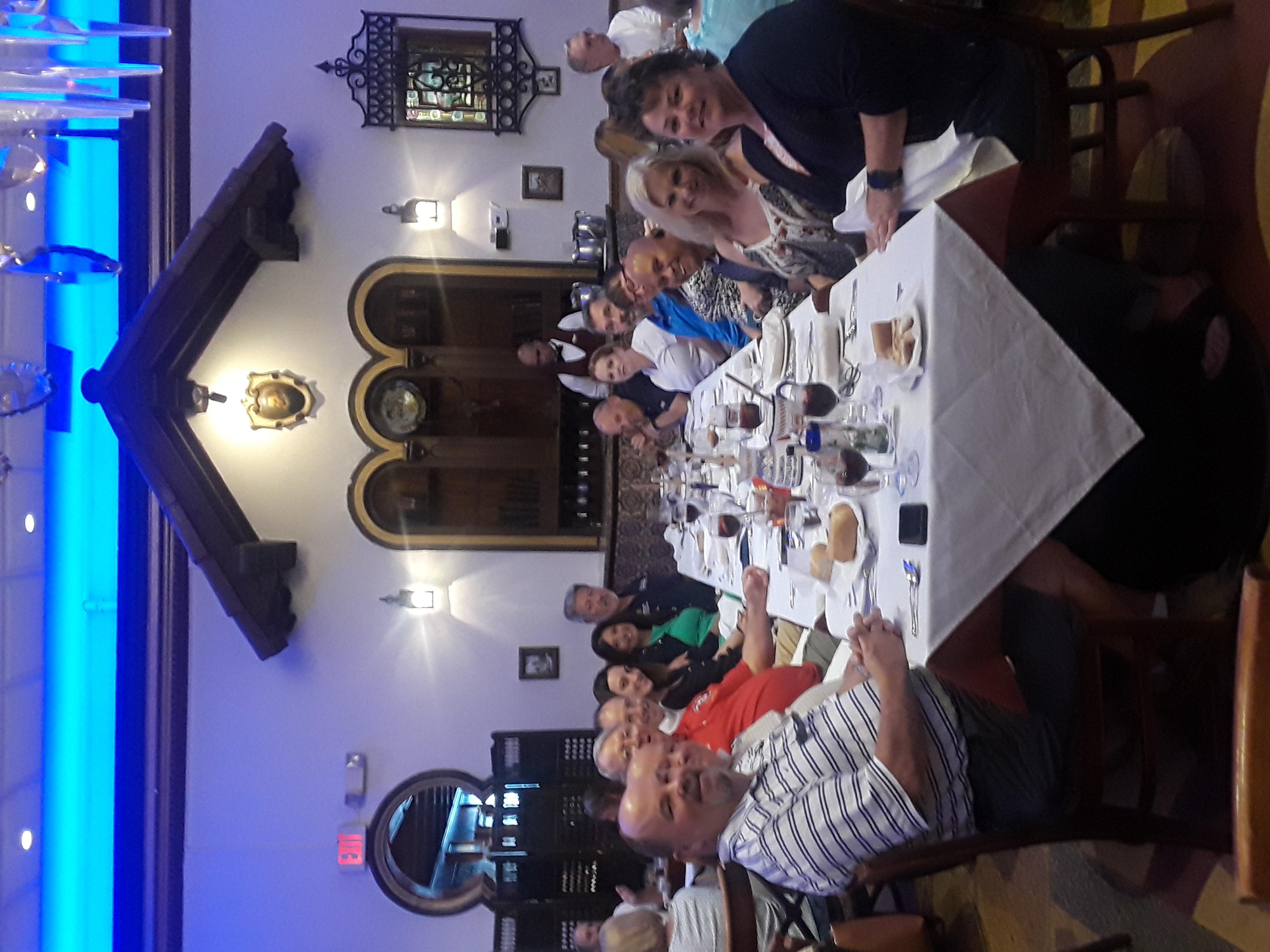 Strategic Offsite Luncheon Senior Mentors Spouses Judge Scionti at Columbia Restaurant