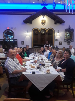 Strategic Offsite Luncheon Senior Mentors Spouses Judge Scionti at Columbia Restaurant