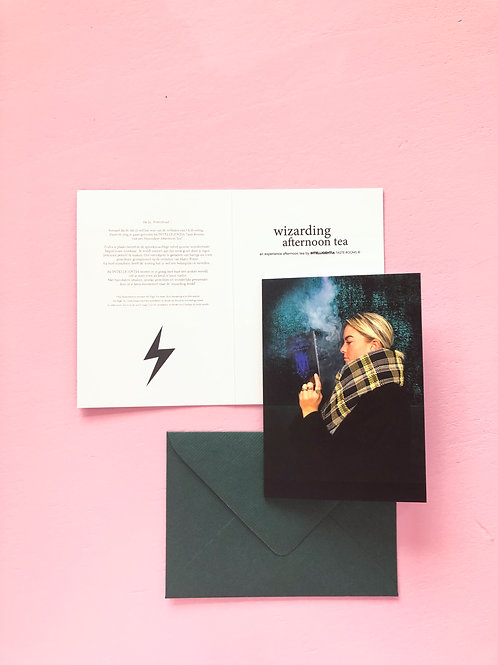 WIZARDING AFTERNOON TEA - giftcard
