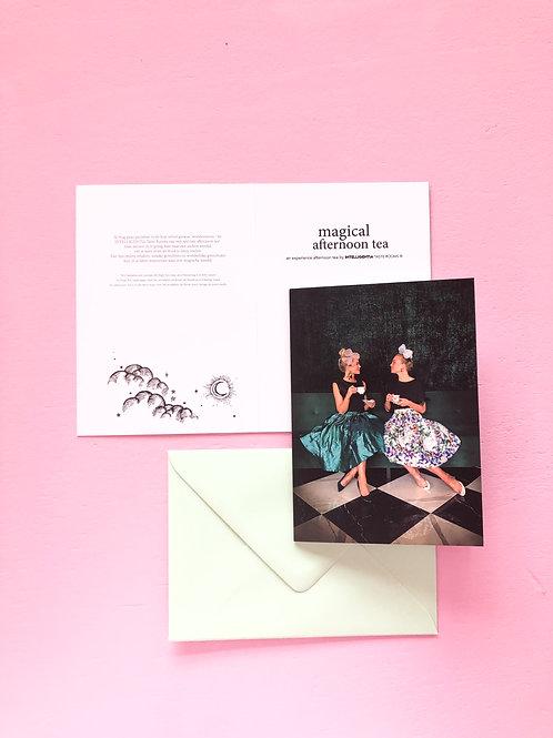 MAGICAL AFTERNOON TEA - giftcard