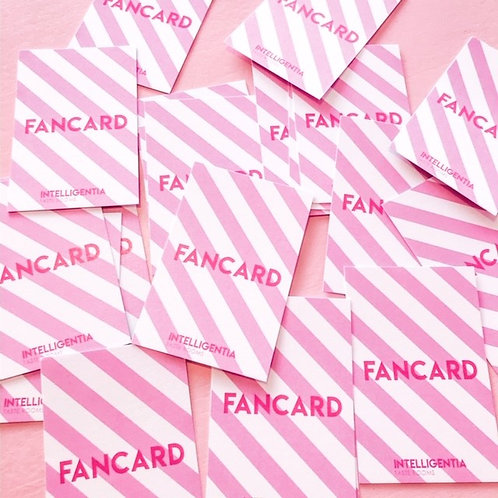 Fancard - tegoed voor 10 bollen ijs