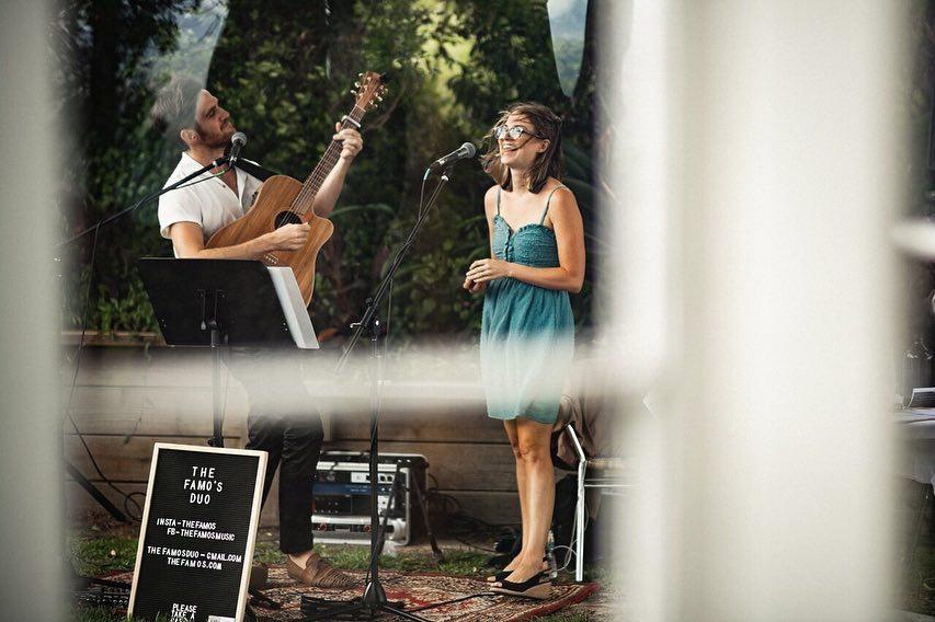 "The Famo's performing at Maleny's, ""Weddings at Tiffany's"" venue on the Sunshine Coast"