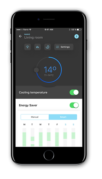 Q&C app settings