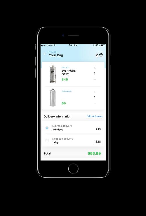 Q&C app Store / shop