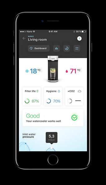 Q&C app dashboard