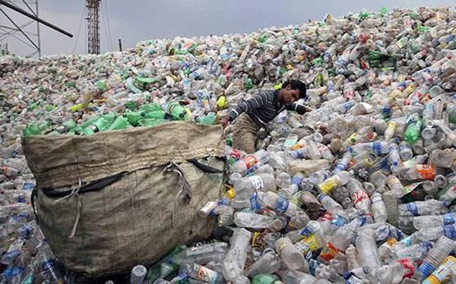 PET bottle junk