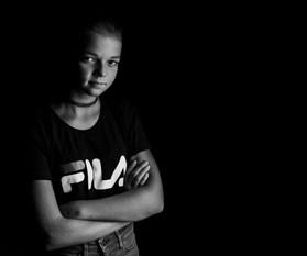 Portrait Mädchen Fila