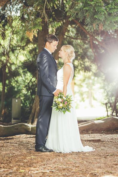 Brautpaar Lichtung