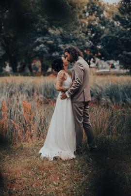Brautpaar Schilf