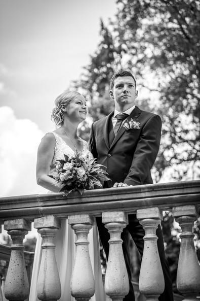 Brautpaar Balkon