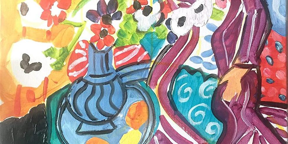Soirée Happy Paint : Matisse