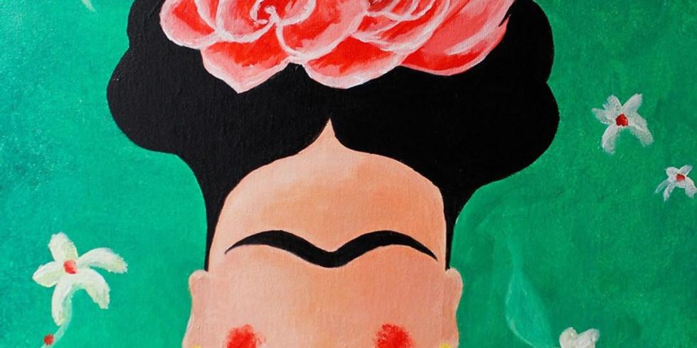 Soirée Happy Paint : Le Portrait de Frida Kahlo