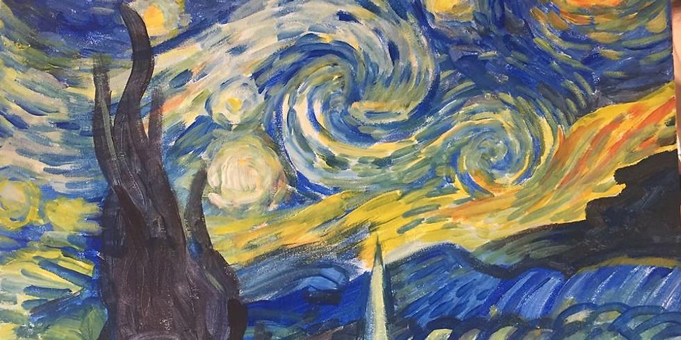 Soirée Happy Paint : La nuit étoilée de Van Gogh