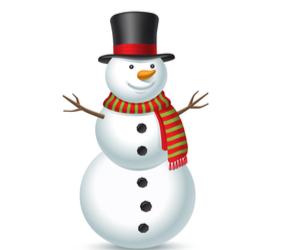 Life Size Snowman