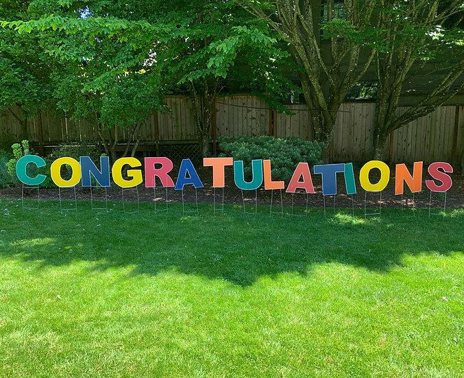 Graduation Expression (Congratulations, ConGRADulations, Congrats Grad)