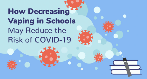 How Decreasing Vaping in Schools May Reduce the Risk of COVID-19