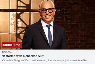 BBC Joe Mimran - Tanmay Manohar Quote