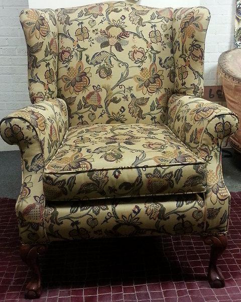 Superb Antique Vintage Queen Anne Chair Theyellowbook Wood Chair Design Ideas Theyellowbookinfo