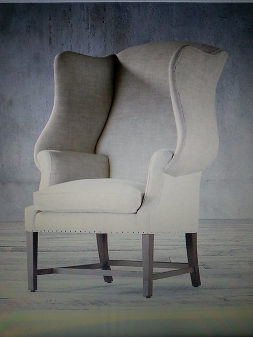 Pair of Queen Anne Wing-back Chair
