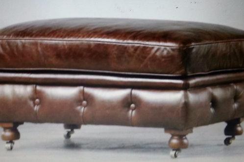Edelman Leather Ottoman