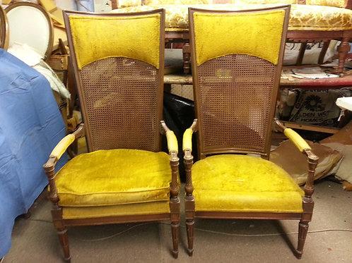 Pair of 18th Century Louis XV Chairs