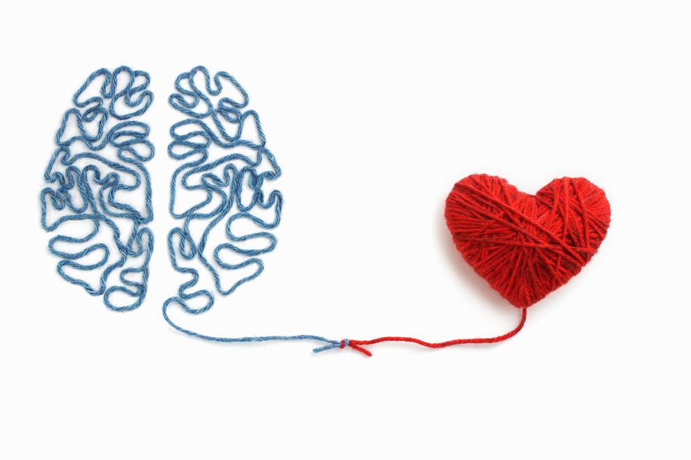 Yarn brain and heart