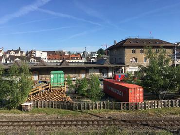 Container für Unerhörtes im Lattich, St. Gallen