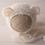 Thumbnail: FLUFFY BEAR KNITTED BONNET