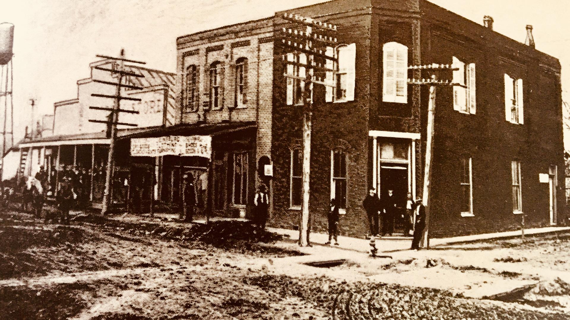Bank of Rosedale, ca. 1887