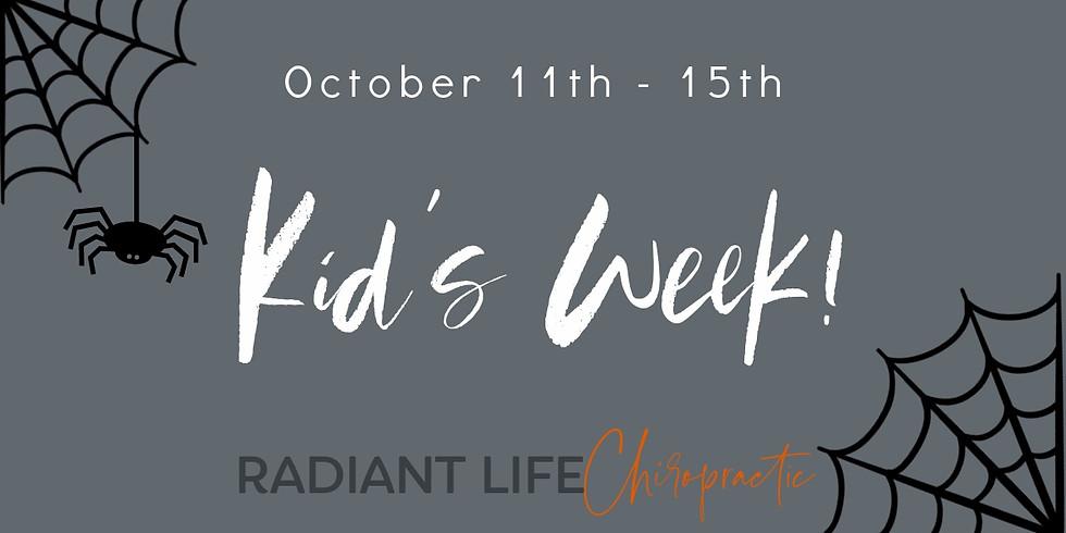October Kid's Week!