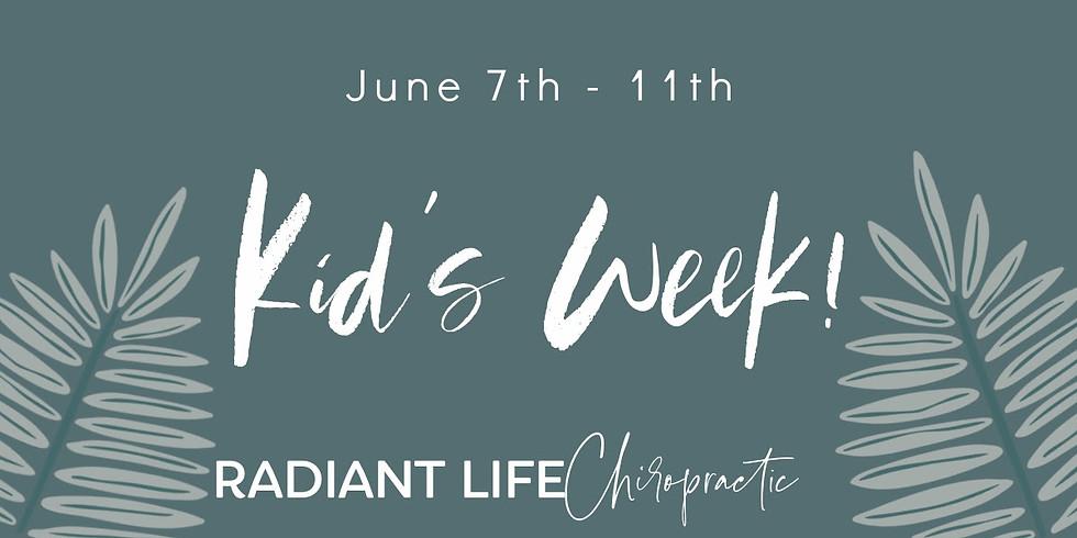 June Kid's Week!