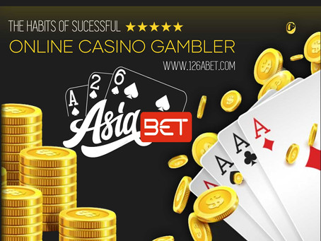 The habits of successful online casino gamblers