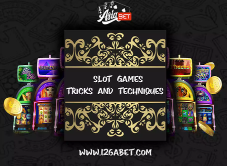 Latest Slot Games Tricks and Techniques to Try in 2020