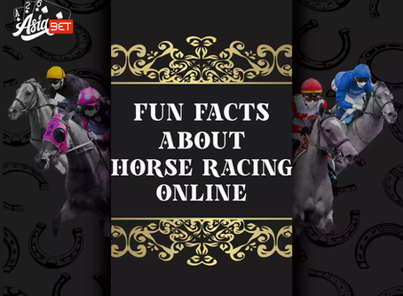 Top 6 Fun Facts to Know About Horse Racing Online