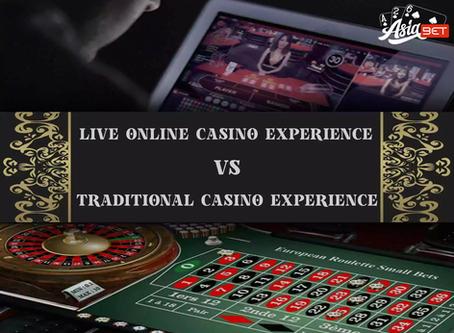 LiveCasinoOnlineExperience vs TraditionalCasinoExperience