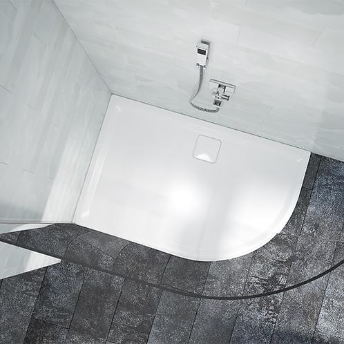 Level 25 Offset Quadrant Shower Tray