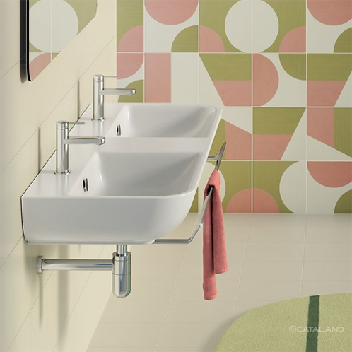 Sfera 125x48 Double Washbasin