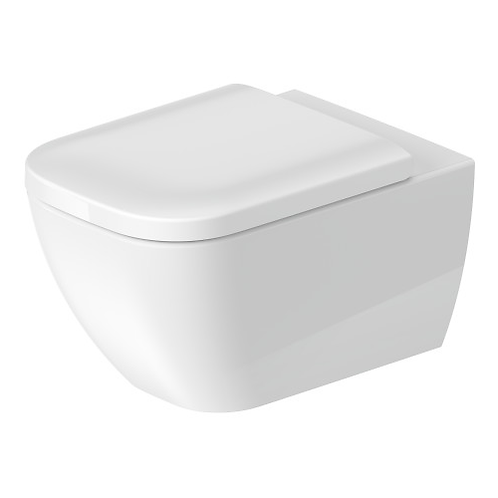 Happy D.2 Rimless® Wall Mounted Toilet