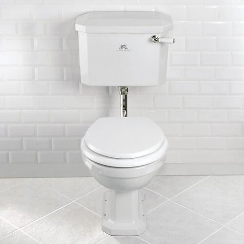 Lefroy Brooks Classic Low Level Toilet