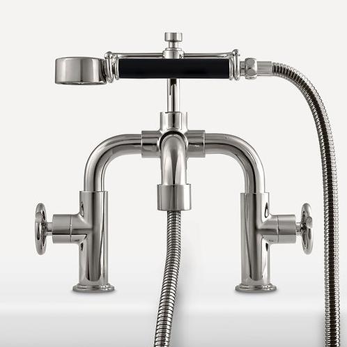 TH1110 Ten Ten Handwheel Deck Mounted Bath Shower Mixer