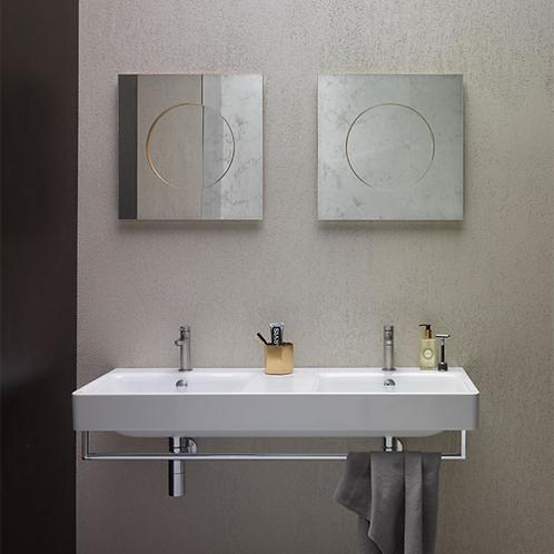 GS9052 Sand 125x50 Double Washbasin