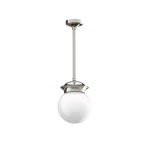 "Classic 6"" Globe Drop Ceiling Light"