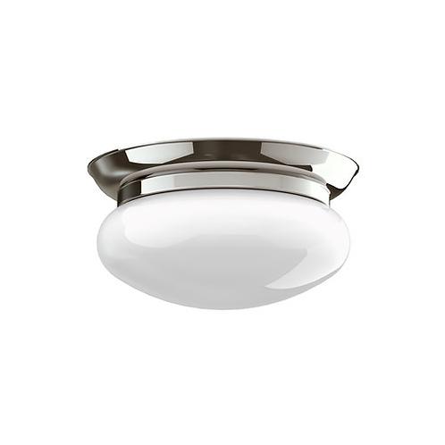 "Classic 10"" Oval Globe Ceiling Lamp"