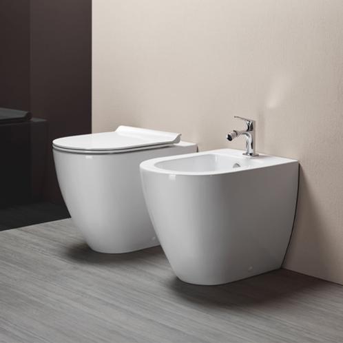 Pura Swirlflush Floor Standing Toilet