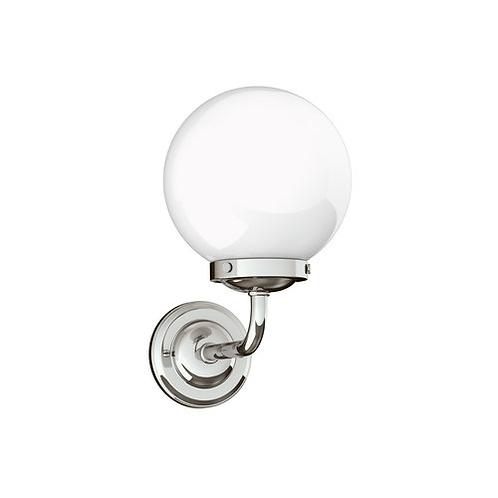"Classic 8"" Globe Wall Lamp"