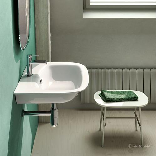 160GRON00 Green One 60x47.5 Washbasin