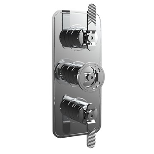 UNION Three Outlet Thermostatic Shower Valve - Lever Control