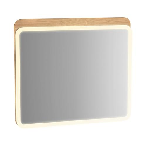 Sento Illuminated Mirror Oak