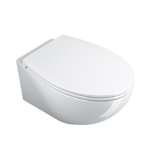1VSVL00 Velis 57 Wall Hung Toilet