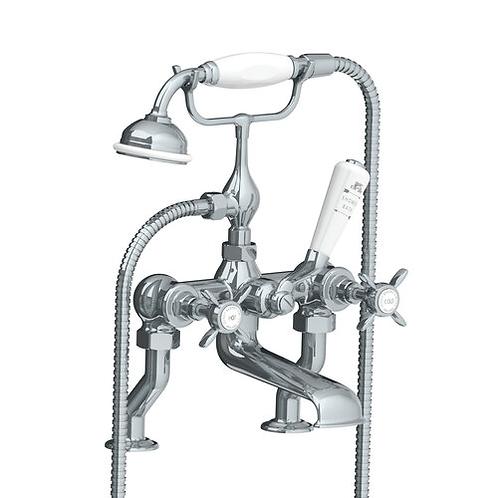 Lefroy Brooks Deck Mounted Bath Shower Mixer